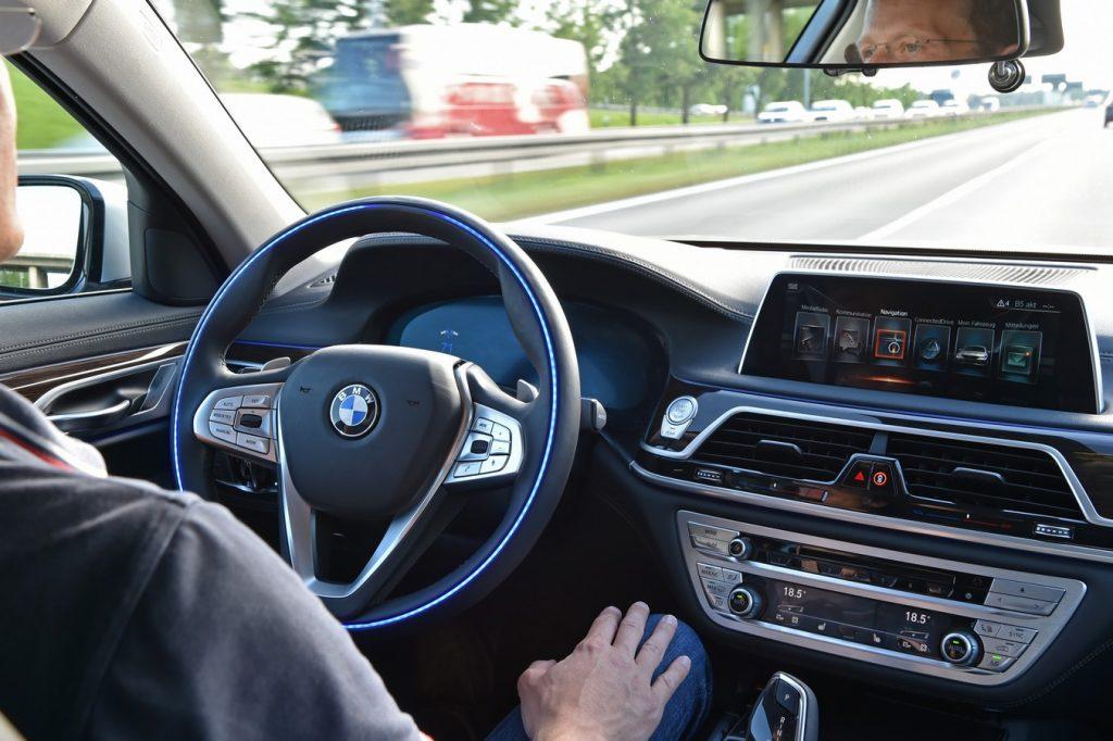 BMW Group Autonomous Test Vehicle