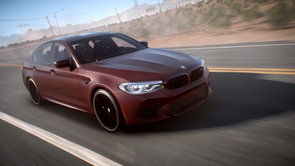 F90 BMW M5 Need for Speed Payback