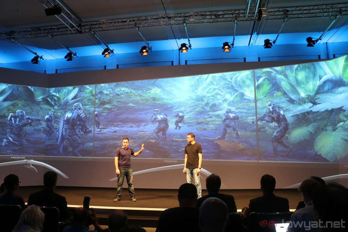 IFA 2017: The Acer Predator X35 Curved Gaming Monitor