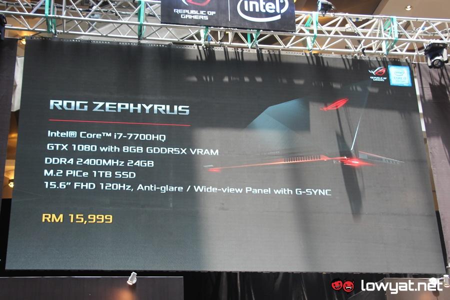 ASUS ROG Zephyrus Launch Malaysia