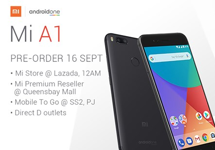 Xiaomi Mi A1 Pre-Order