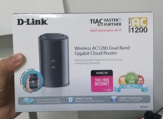 D-Link DIR850-L for Time Internet Customers