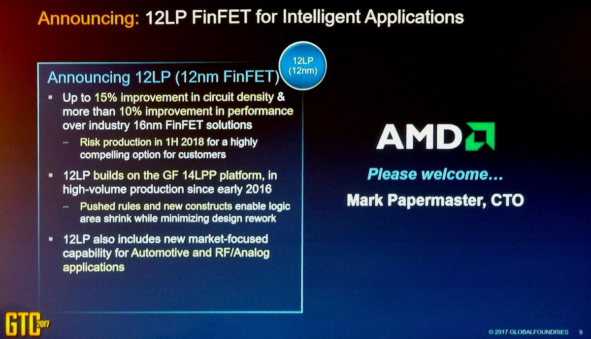 AMD To Transition From 14nm LP To 12nm LP Process In 2018 | Lowyat NET