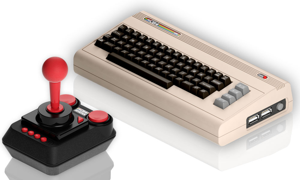 Commodore 64 mini console is coming in 2018