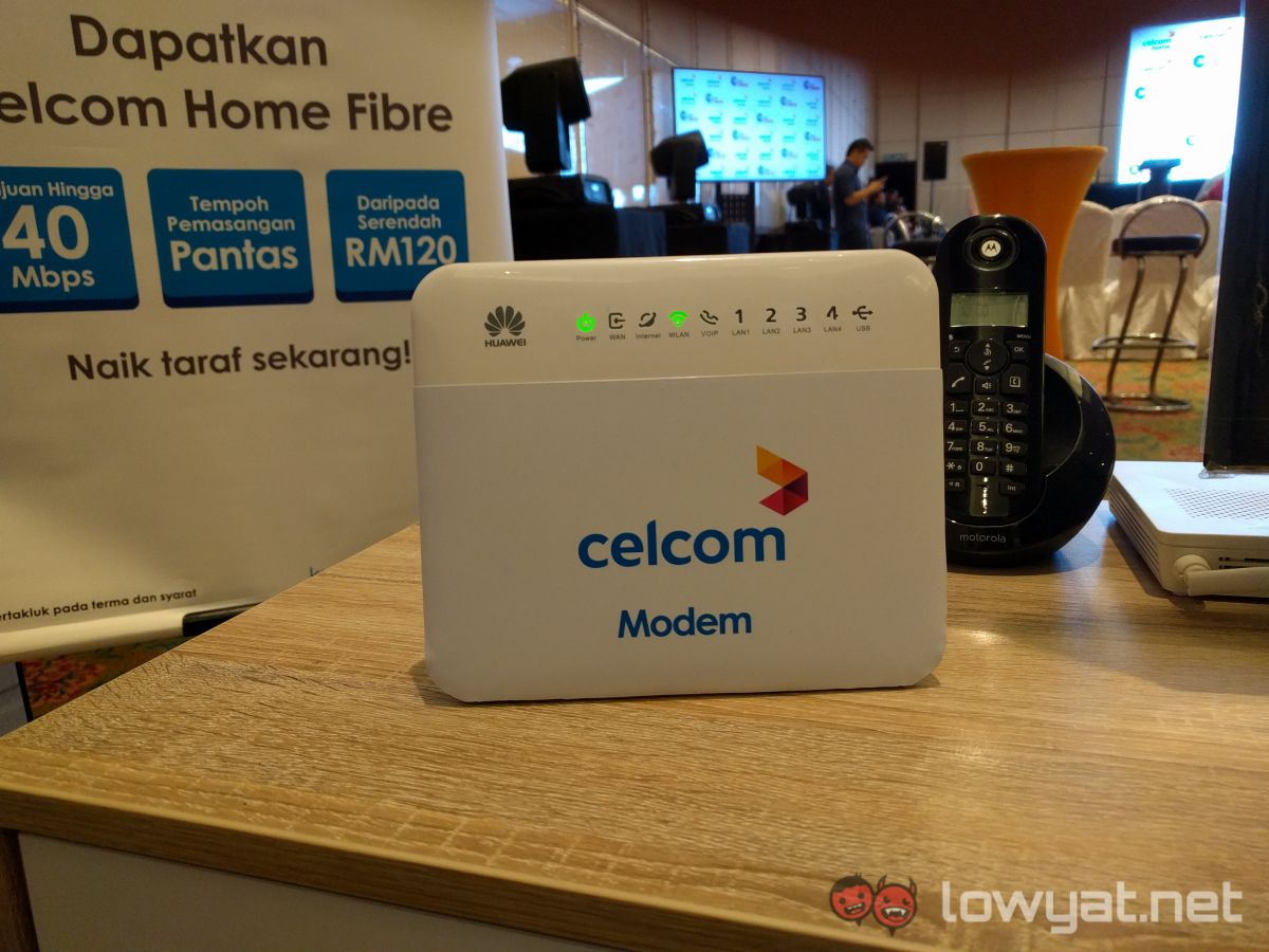 Celcom Officially Launches Two High-speed Fibre Internet Services