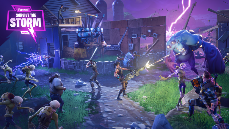 Fortnite Now Forces Cross-Play Between PS4 And Xbox One