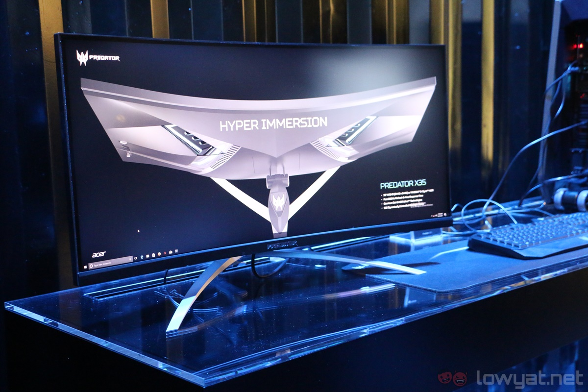 IFA 2017: The Acer Predator X35 Curved Gaming Monitor Features 200Hz