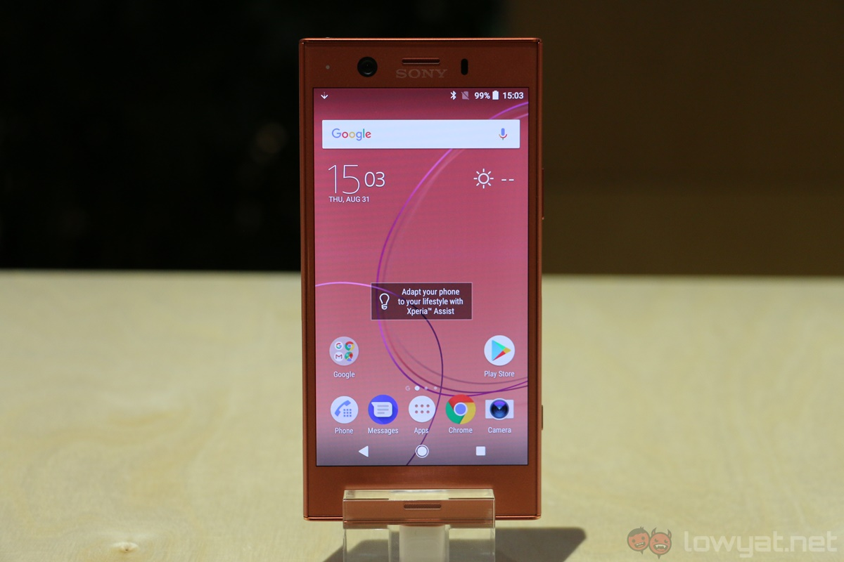 sony xperia xz1 compact arriving in malaysia soon lowyat net. Black Bedroom Furniture Sets. Home Design Ideas