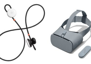 Google Pixel Buds / Daydream View VR Headset