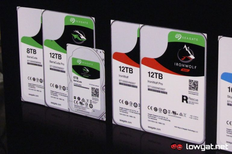 Seagate 12TB Hard Drives