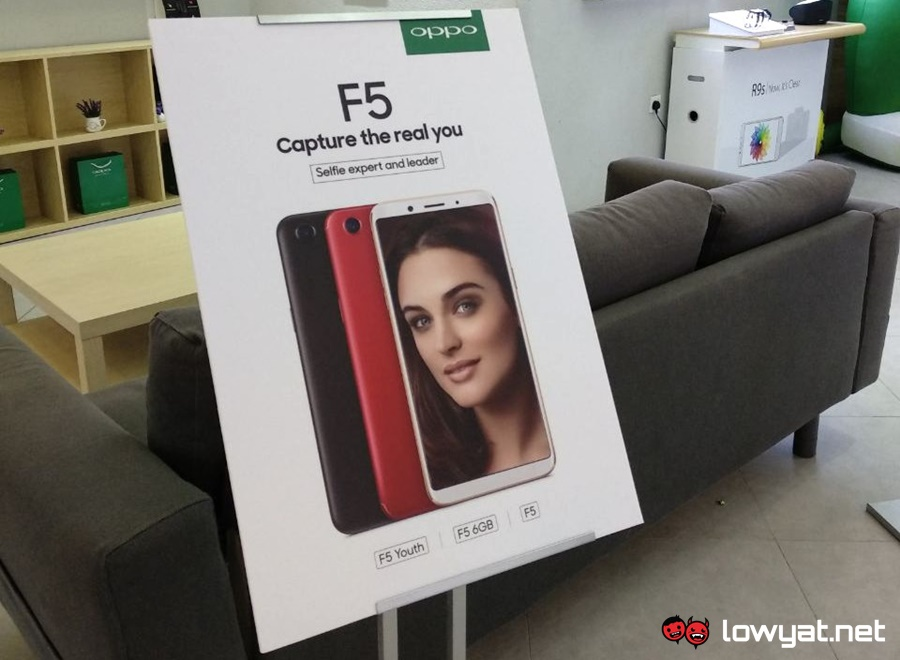 Oppo F5 arrives with 20MP front camera with AI