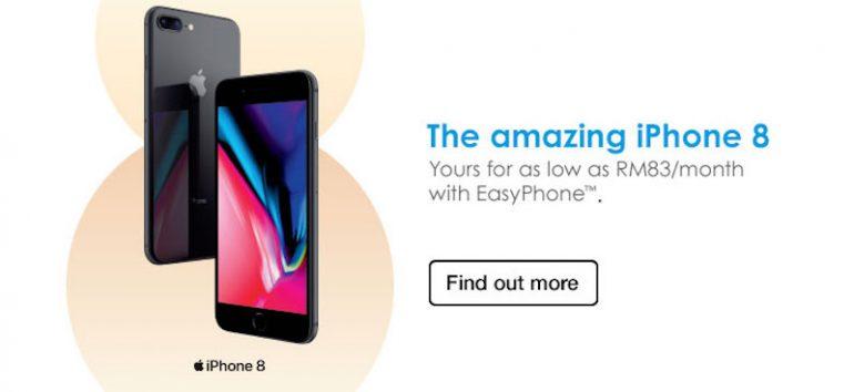 Celcom iPhone 8