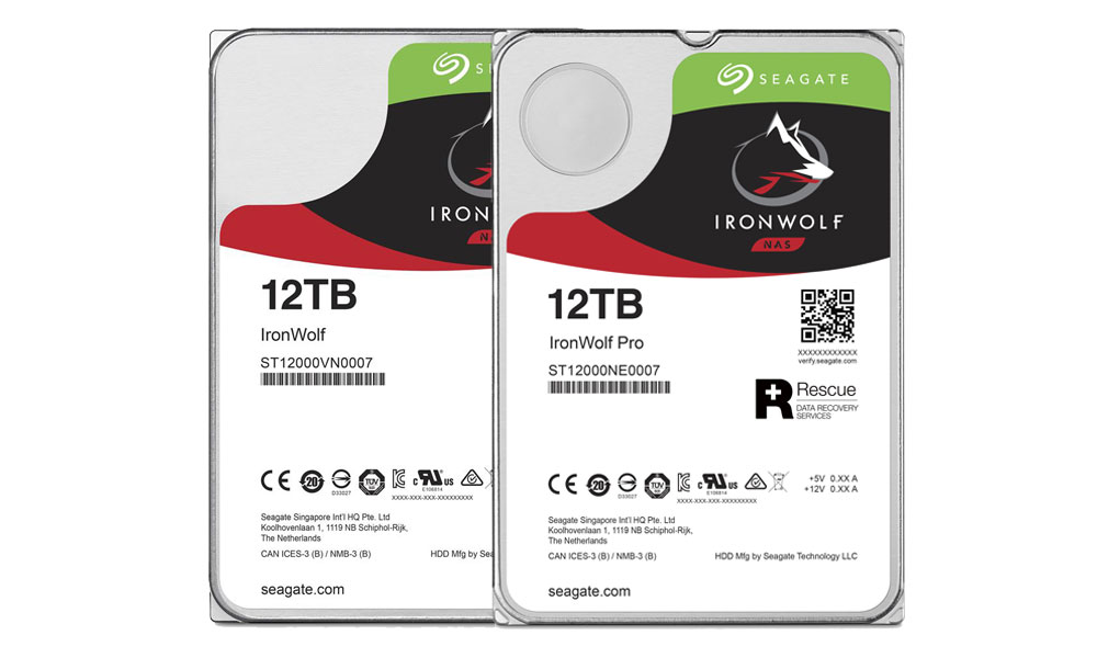 Seagate Announces 12TB Hard Drives for Desktop and NAS Applications