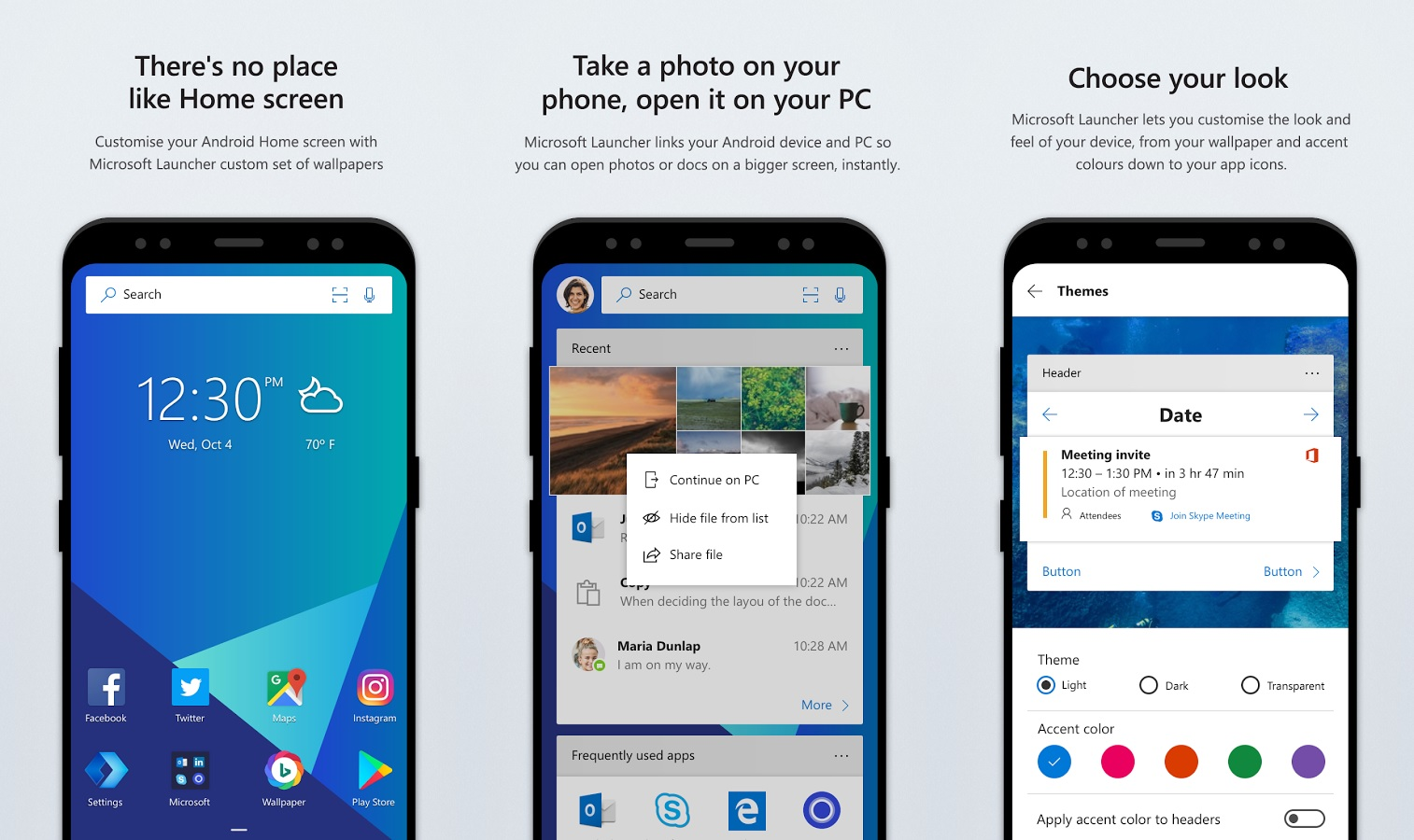 Microsoft Reveals Its Own Microsoft Launcher For Android | Lowyat NET
