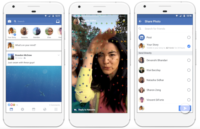 Now share Instagram Stories to Facebook
