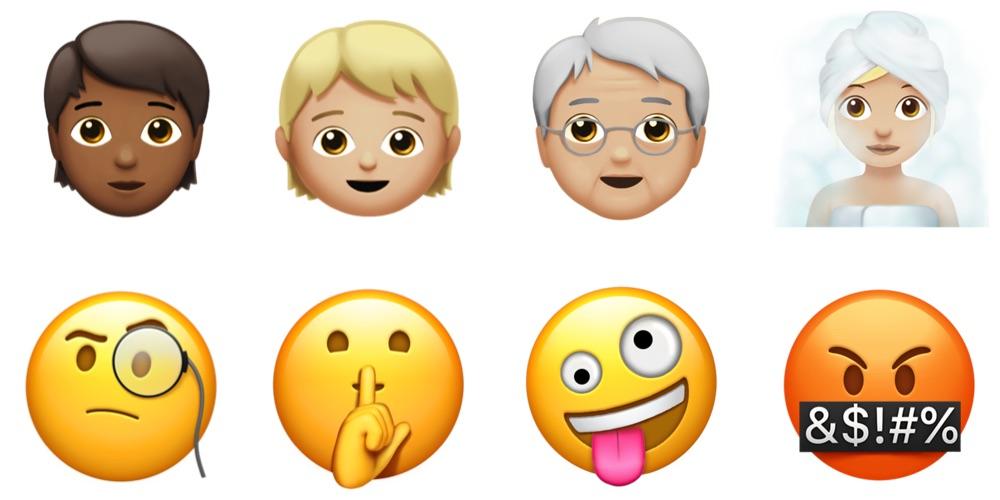 iOS 11.1 New Emoji