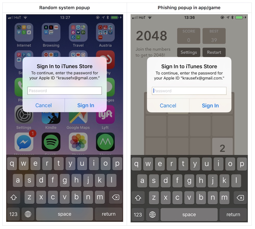 IPhone passwords 'shockingly easy' to steal from iOS users