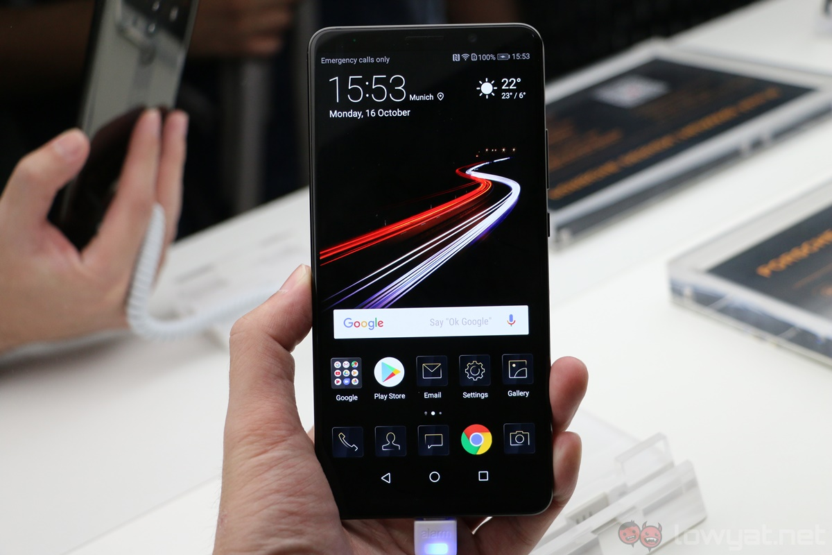 The Porsche Design Huawei Mate 10 Is A Classy Expensive Smartphone Lowyat Net,Cyrus Vs Cyrus Design And Conquer