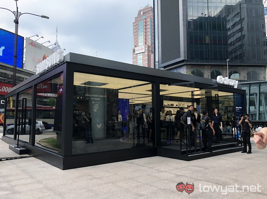 samsung opens galaxy studio experiential pop up store in kuala lumpur lowyat net. Black Bedroom Furniture Sets. Home Design Ideas