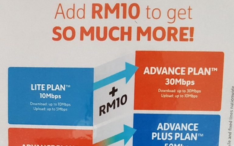UniFi RM 10 Speed Upgrade