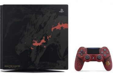 PlayStation 4 Pro Monster Hunter: World Rathalos Edition
