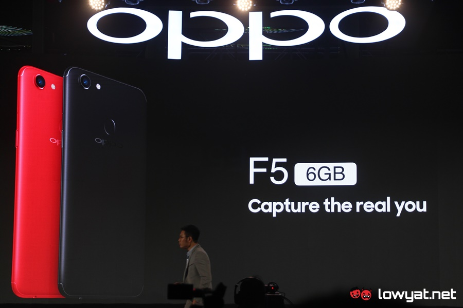 In the Philippines, started selling OPPO F5 Youth