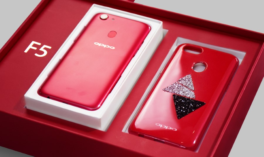 new styles f3dad a5db2 OPPO F5 6GB Red Edition Pre-Order Early Birds To Receive Swarovski ...