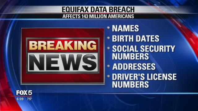 Serious data breach at Equifax