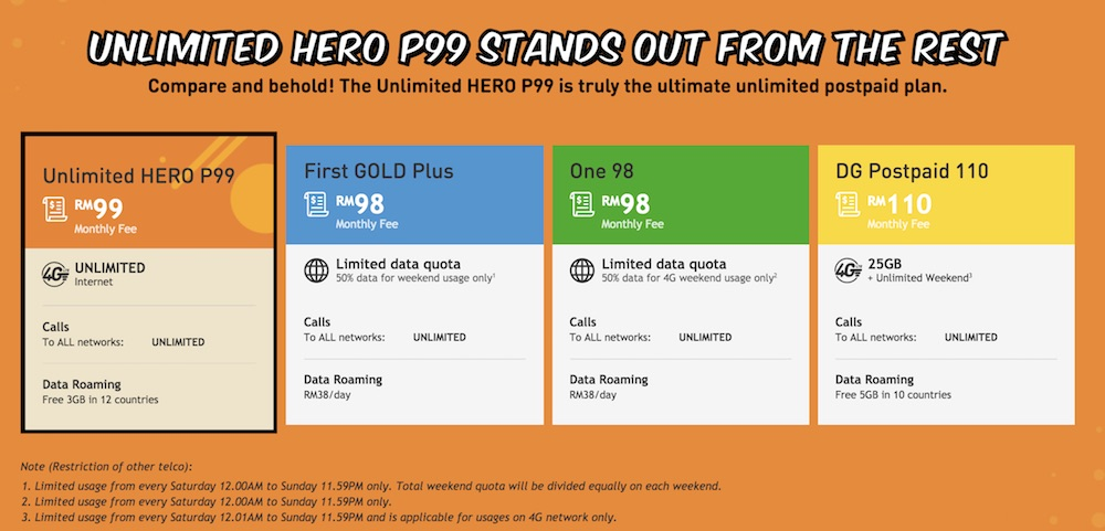 Unlimited Hotspot Plans >> U Mobile Introduces New P99 Plan With Unlimited High Speed Data