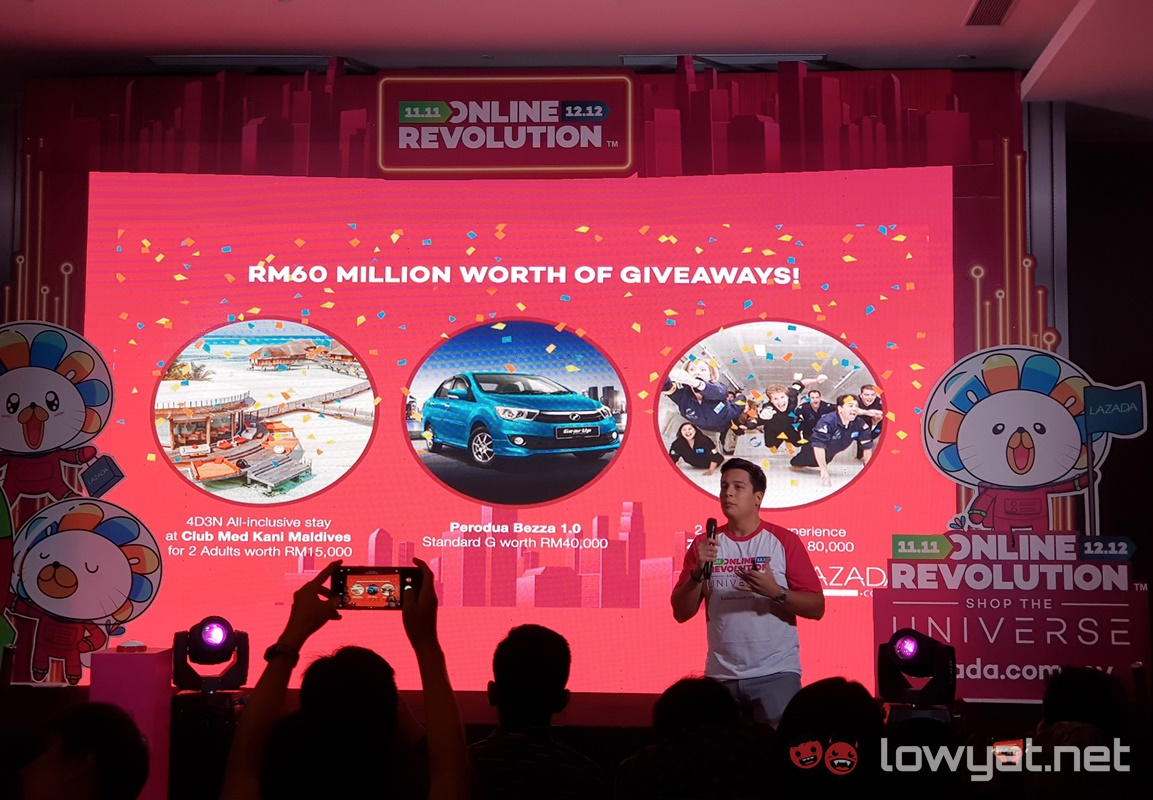 Lazada Gears Up For Online Revolution 2017 With RM1 Deals