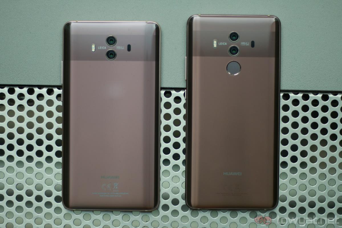 Huawei Mate 10 and Mate 10 Pro.