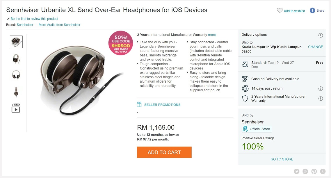 b3055904c7b On the other hand, the Urbanite headphones ensure you make the most out of  the 50% code (SR5OD). The Urbanites are designed for the younger crowd, ...