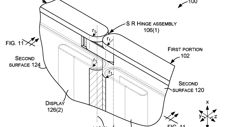Surface Phone May Be A Foldable Device With Self-Regulating Hinge