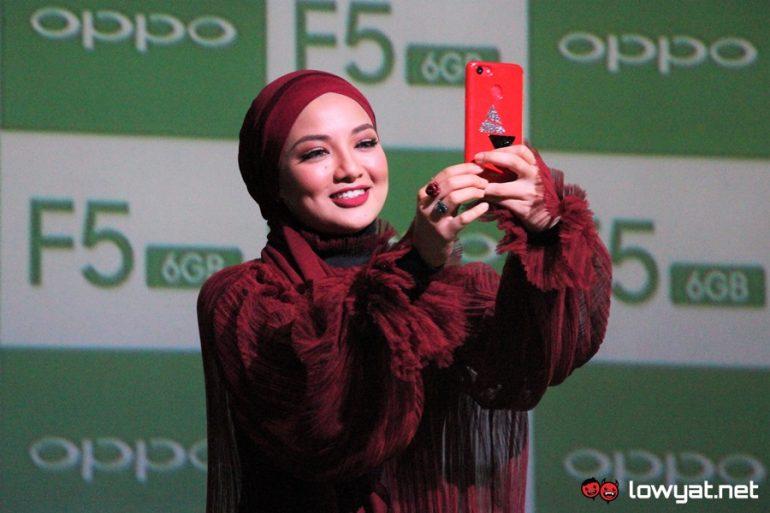 OPPO F5 6GB Malaysian Launch