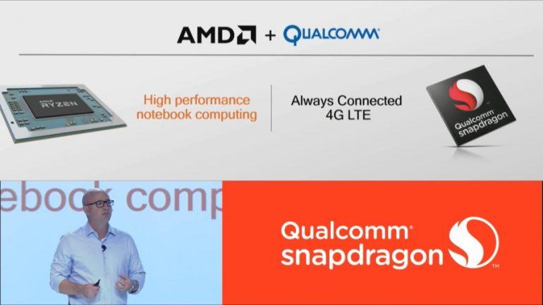 AMD Ryzen Mobile - Qualcomm Snapdragon