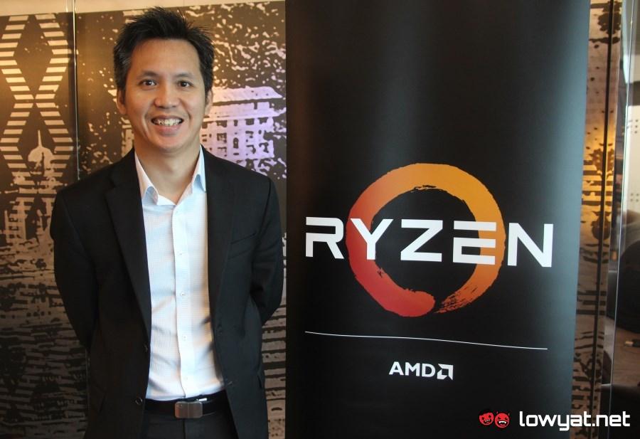 Ryan Sim, Sales Director, AMD ASEAN.