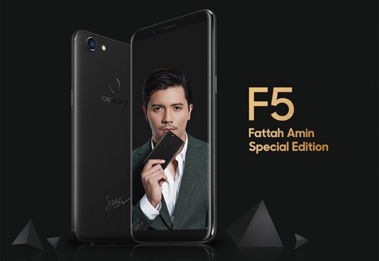 OPPO F5 Fattah Amin Special Edition