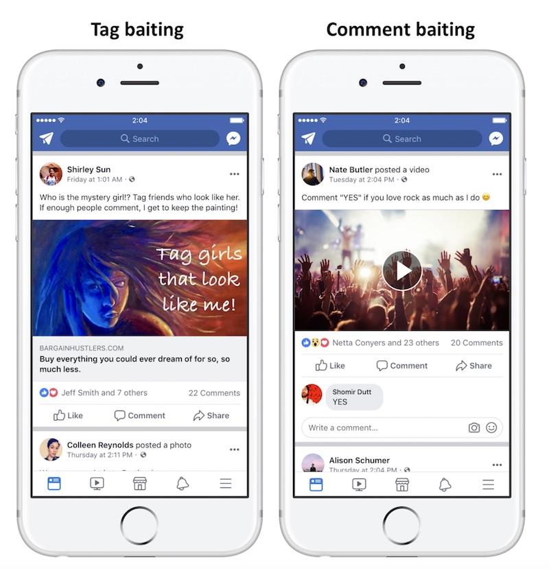 Facebook cracks down on engagement bait posts, starts demoting them on timeline