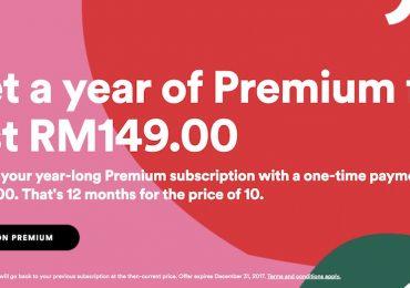 Spotify Premium Yearly Plan