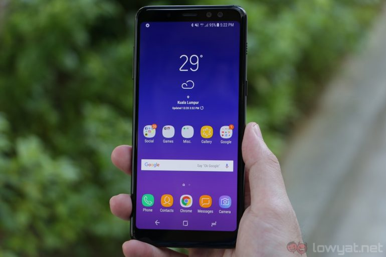 Samsung Galaxy A8 2018 Series Launched In Malaysia