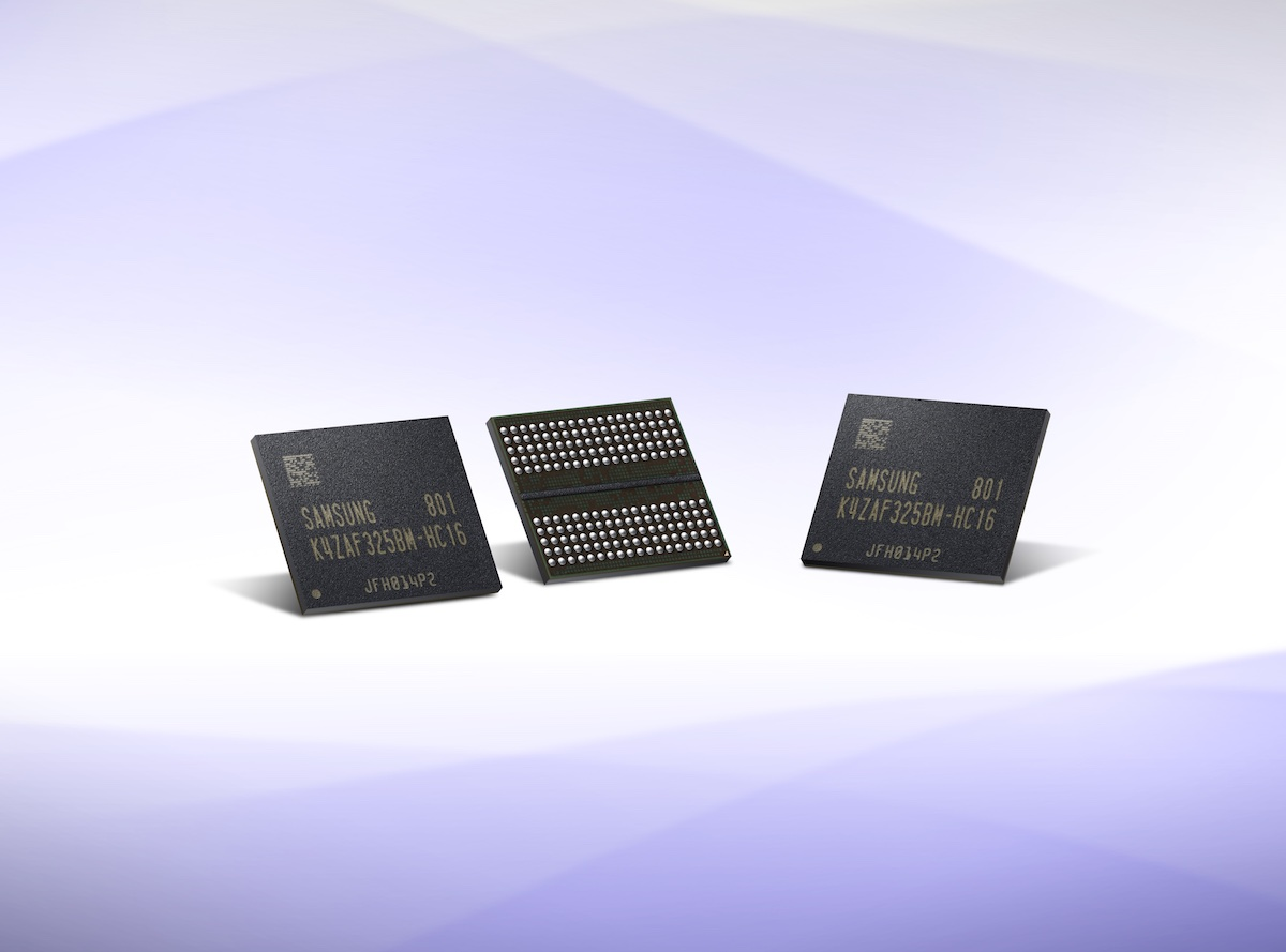 Samsung announces large scale production of GDDR6 chips