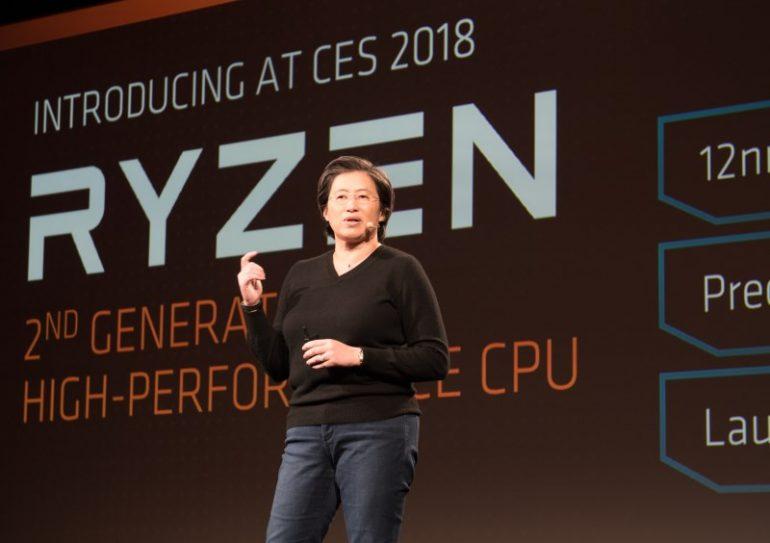 2nd Gen AMD Ryzen Desktop CPU
