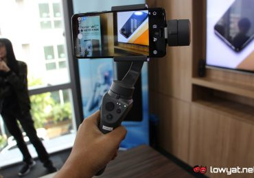 DJI Osmo Mobile 2 with Honor View10