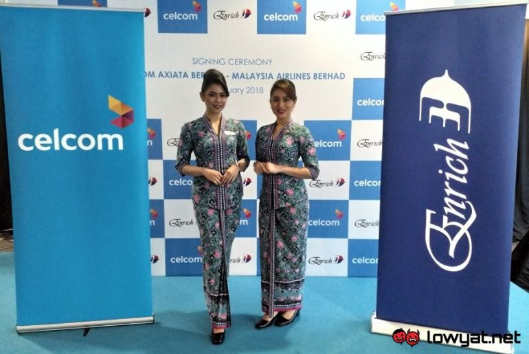 Celcom x Malaysia Airlines