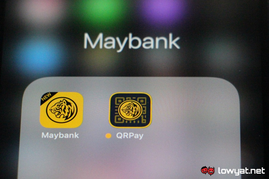 Maybank 2U and Maybank QRPay