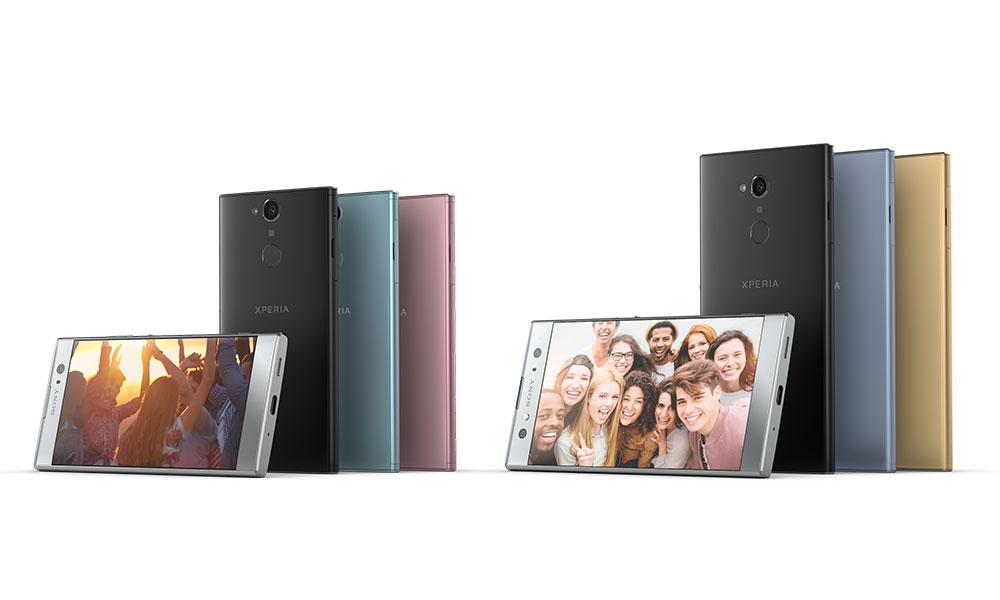 Sony Xperia XA2, Xperia XA2 Ultra selfie smartphones launched at CES 2018