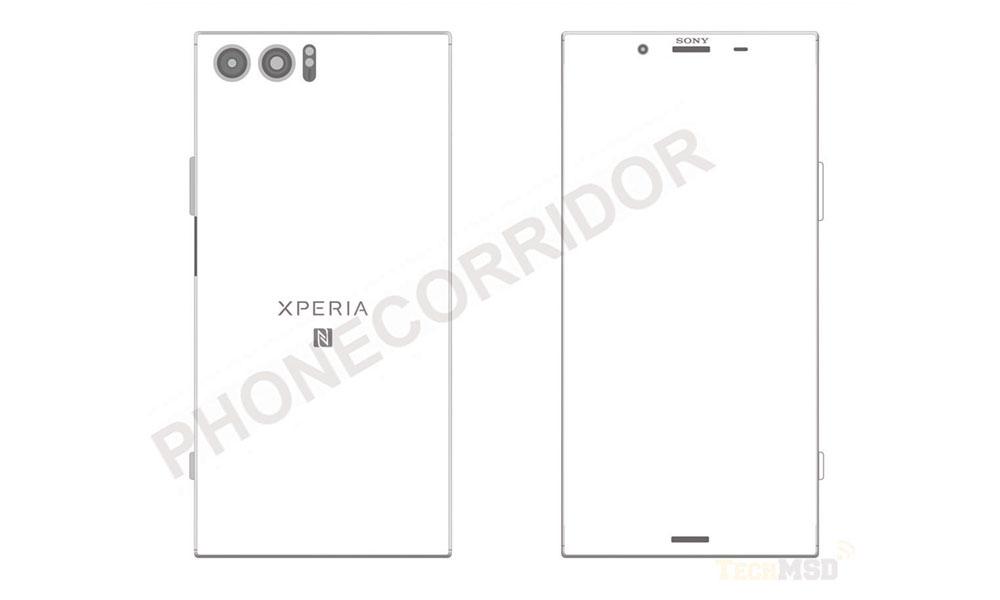 Possible Sony Xperia XZ Pro Drawings Appear Online | Lowyat NET
