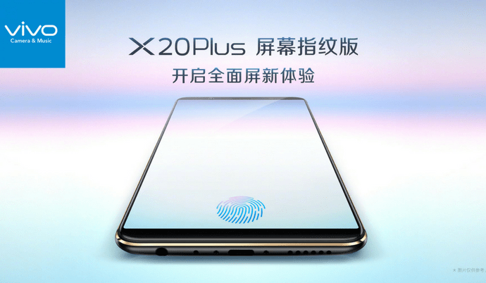 Vivo X20 Plus UD with under-screen fingerprint scanner is coming