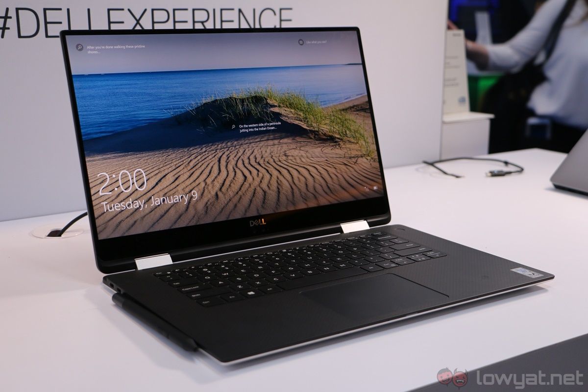 dell xps 15 2 in 1 hands on not your average convertible lowyat net. Black Bedroom Furniture Sets. Home Design Ideas