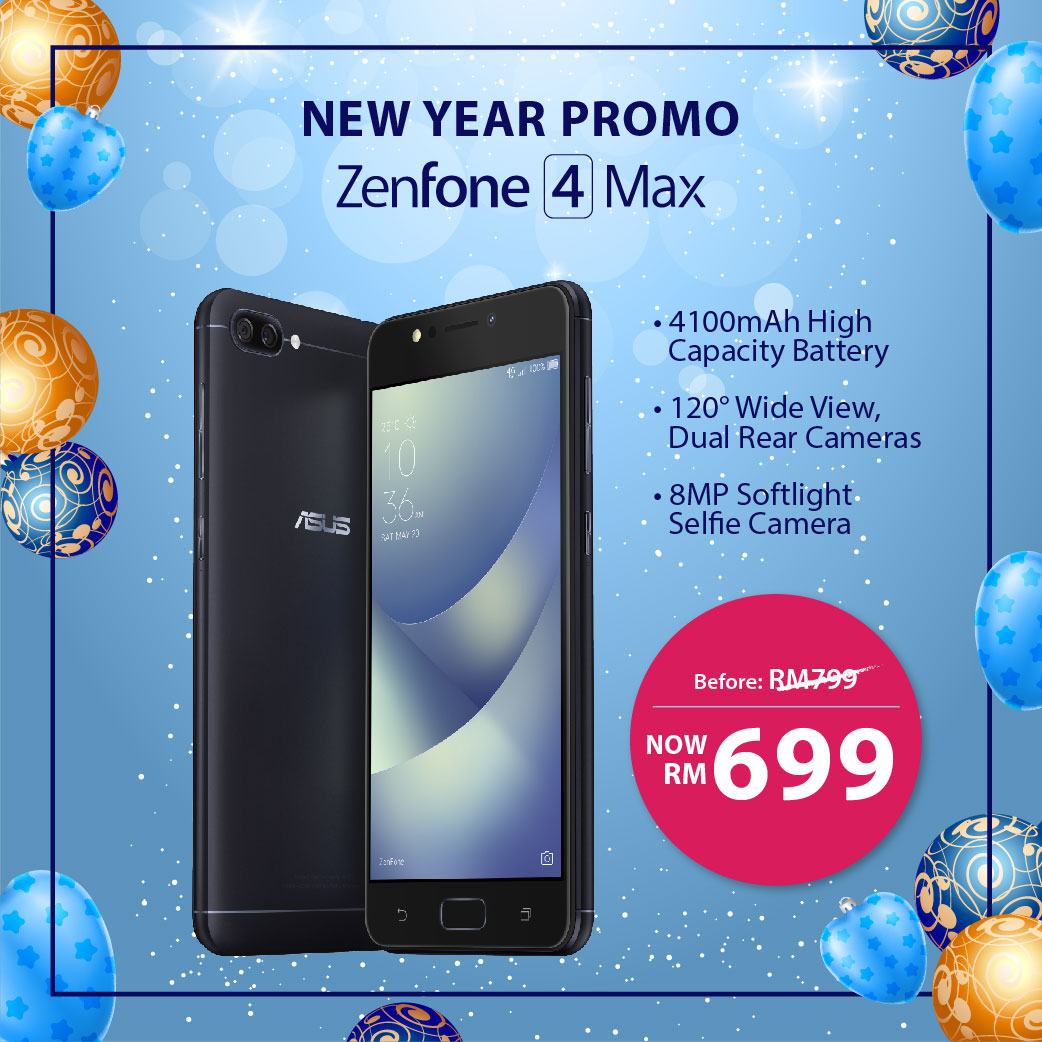 asus zenfone 4 max receives rm100 discount now retailing at rm699 lowyat net. Black Bedroom Furniture Sets. Home Design Ideas